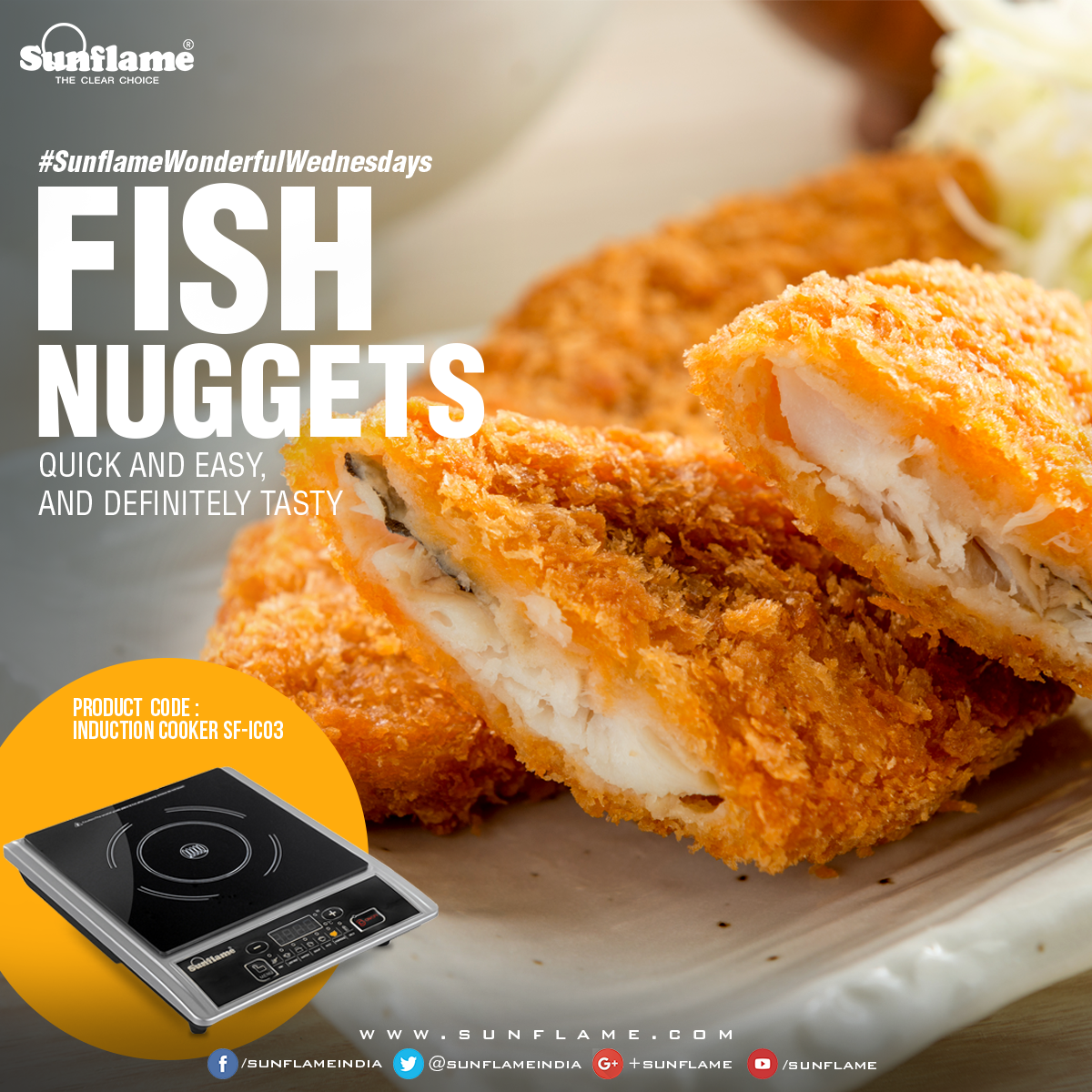 Sunflame FISH NUGGETS